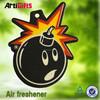 Cheap auto hanging perfume car air paper freshener car air freshener
