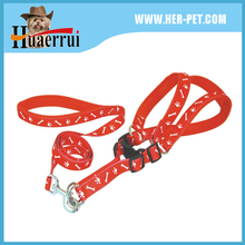 Pet Supplies New Nylon Soft Padded Chest Harness&Leash Set Adjustable For Pet Dog