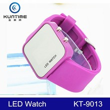 Wholesale Mirror Face Couple Lover unusual products Wrist Watch
