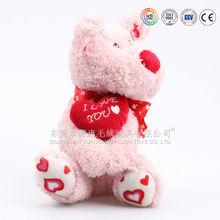High quality custom made dog animal plush toys,custom stuffed plushie