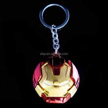 New The Avengers Iron Man Hulkbuster Portrait 3D Red 5cm Metal Keychain Keyring