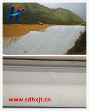 Manufacture of PET nonwoven geotextile for slope protection