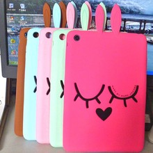 Character animal silicon case for ipad
