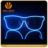 Handicraft LED Light Glasses,Best selling items Plastic Flashing Led Glowing Glasses