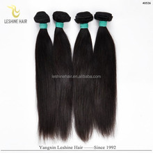 Alibaba China Best Quality Best Price Full Cuticle No Shedding No Tangle Dyleable yellow human hair extensions