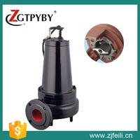 heavy duty cast iron pump cutter for dirty water sludge cutter pump