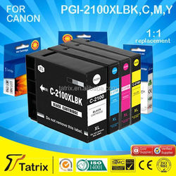 TOP 3 manufacturer in China for canon compatible ink cartridge PGI-2100XL