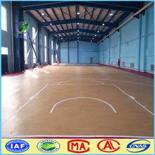 Basketball court/ waterproof laminate flooring