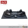 custom black classic diamond display props for jewelry cabinet