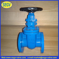bs 5163 non rising stem cast iron gate valve/hard seal/brass seat/13cr seat Z45T-16