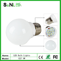 New 2015 hot sale 9W 220V Cold White LED Lights e27 Bulb led lamp luz de bulbo llevada