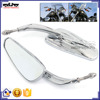 BJ-RM400-014 Aftermarket Chrome Billet Aluminum Motorcycle Sportbike Motocross Rearview Mirror for Harley