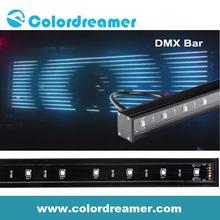 DMX512 control dmx led digital rgb bar with high quality
