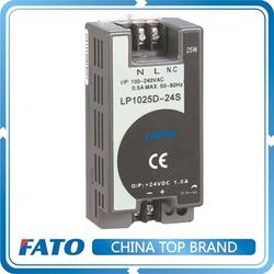 FATO LP1025D-24S 12V dc 25w Single Output LED DIN Rail 12v dc power supply