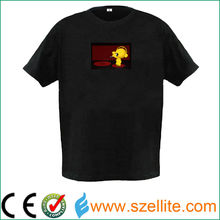 Comfortable and soft equalizer el t shirt