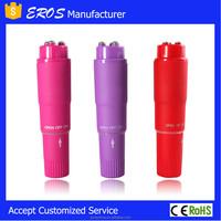Sex Toy Factory Outlet Store Waterproof Pocket Rocket Mini Massager Vibrator Vibe