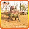 Amusement park life size animatronic emulation realistic robotic dinosaurs for sale