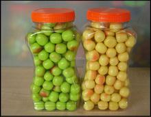 apple ball shape bubble gum