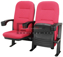 Hot Sale Auditorium Furniture Movable Theater Chair Folding Cinema Seating