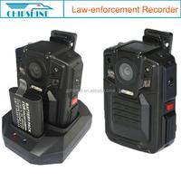 1080P motion detecting wifi app GPS police camera pocket dvr for police