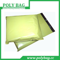 Online Shopping Yellow Package Plastic Mailing Bag