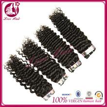 unprocessed 100% virgin human hair beautiful texture feather hair extension