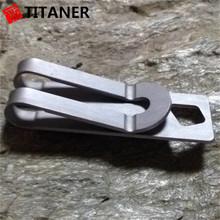 2015 multi-funcional ao ar livre camping titanium clipe garter belt
