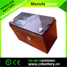 Sealed Lead Acid Battery 12v 100ah Deep Cycle Battery For Solar And Wind Units