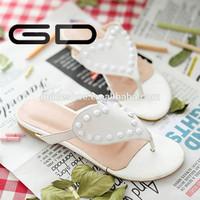 2015 leather heart shape slippers women fashion outdoor women sandals slippers