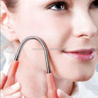 Profeesional Stainless Steel Spring Facial Hair Remover Epilator