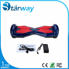 China Alibaba Hot selling new style 6.5inch two wheels self balancing scooter factory
