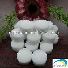 tabletas de sal del suavizador de agua