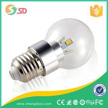 120lm per w 2w 4w 3w high quality led candle lightings e12 e14 e27