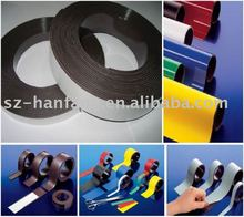 Flexible rubber coated magnet (strip/roll/sheet)