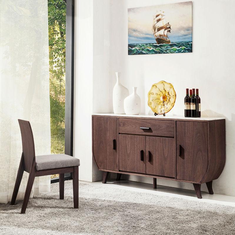 Acacia wood sideboard buffet big storage buy