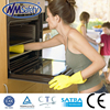 NMSAFETY cheap working glove yellow household rubber gloves