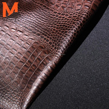 crocodile sheep skin pattern embossed leather