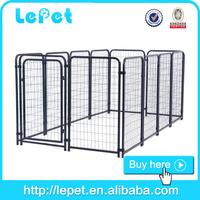 big size metal galvanized dog keeping kennel
