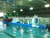 Most popular durable inflatable floating obstacle for sale