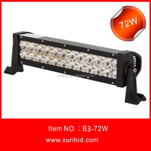 Car Accessory,Led Driving Light Bar C ree 72w Off Road Led Light Bar,Waterproof,For 4x4,Suv,Atv,4wd,Truck,Wrangler