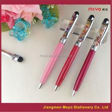 2015 Hot Sales crystal ballpoint pen,metal pen refills,crystal pen sets