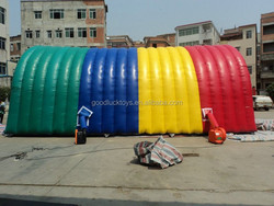 Durable Rainbow Tourist Inflatable Backyard Party Tent Oxford Cloth/inflatable photo booth/photo booth/