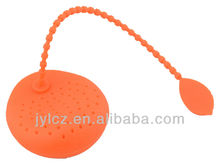 food grade tea bag strainer silicone of 4 color assorted