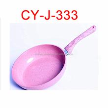hot sale oem marble stone coating fry pan