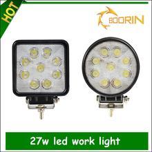 Wholesale price IP68 new 27w car led tuning light/led work light 10-30V 27W