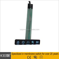 EL/LED&LGF back-light(backlit/backlighting) illuminated membrane switch keypad keyboard producer in China