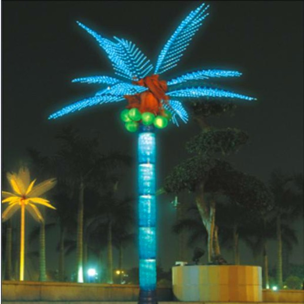 Coconut Palm Tree Led Lighted Outdoor Decors - Buy Coconut Palm Tree,Artificial Lighted Palm ...