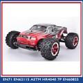 Material plástico 1:12 escala 4wd 2.4 G de alta velocidade caminhão de controle de rádio brinquedo do carro rc 1/5 gasolina