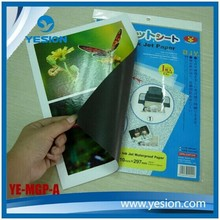Yesion Inkjet Print Magnetic Photo Paper/Magnet Fridge Paper A3/ A4 Professional Manufacturer