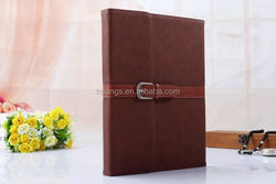 2015 Stylish Stand function PU leather wallet tablet case for ipad air 2 leather case wholesale made in china